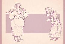 gesture old woman