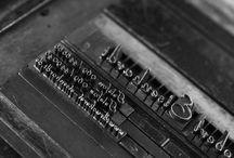 Heidelberger Tiegel / Maschinen-Impressionen, Letterpress Buchdruck Design.