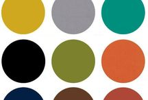 Mid century colour palette