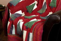Crochet poncho's, blankets, afghans and throws