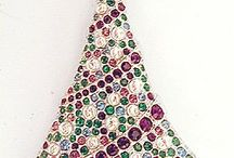 A Bit of Bling - Christmas Tree Pins