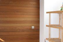 Revestimientos de madera. Gubia