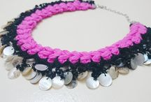 Crochet and Oya Jewelry - by Hisliden / Art Jewerly