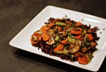 Vegetarian/ Vegan/ Gluten Free Food / by Darcy North