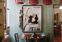 Restuarant Interiors / Restuarants I have been to or seen online and absolutely love their interiors...