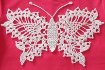 Mariposa tejida