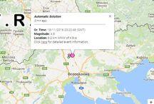 ΤΩΡΑ-Σεισμός ταρακούνησε την Κεντρική Μακεδονία- Αναταραχή στη Θεσσαλονίκη
