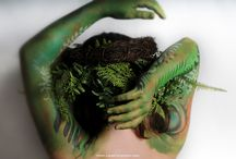 Forest Fairy - bodyart by LanaChromium