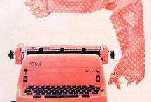 typewriters inspiration / Typewriters inspiration for art journal