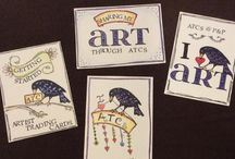 Artist Trading Cards / All about ATCs