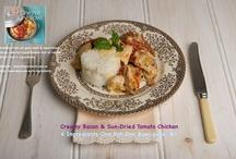 Recipes- chicken / food / by Sandy Hazel