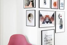 Wall art arrangements