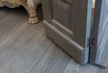 Wood flooring transitions (flooring changes directions)