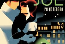Vintage Art Deco illustrations