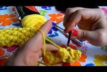 video crochet corn