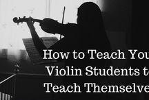 Violin (teaching) stuff