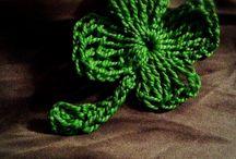 Little Things ( only CROCHET ) / Trebol de 4 hojas de ganchillo