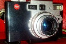 Vintage camera's.