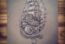tattoo - ship