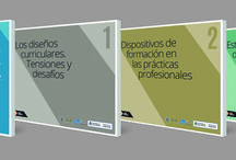 Ministerio De Seguridad / Diseño de tapas e interiores para colección de manuales pedagógicos.