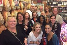 Happy tour groups :) / Happy memories of people who have enjoyed The Roman Food Tour.