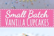 Small Batch Recipes / Small batch recipes for when you don't need 12 cupcakes, 30 cookies or a huge cake. Small and cute batches of anything you can think of!