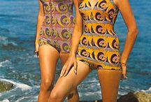 60s swim wear
