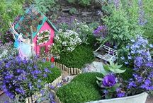 Mini gardens / Little garden ideas
