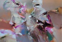 МАСЛО | oil / Характер картины, написанной маслом, задавается  техникой работы с красками и мастерством художника...
