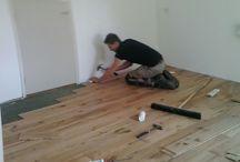 Houten vloeren / Geleverde en gelegde houten vloeren