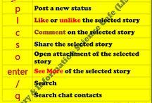 Facebook Shortcut Key