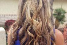 Konfirmation hår