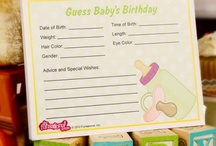 Baby shower/baptism/name ceremony inspiration