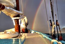 Rainbows & Sunsets! / On a Jus' Sail charter you get to see beautiful rainbows and sunsets we want to share with the world!