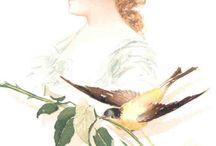 MAUD STUMM. ИЛЛЮСТРАТОР / Это принты американского иллюстратора Мод Штумма (1870-1935). Рисовал он портреты звезд сцены прошедшего столетия.