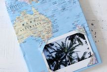 Travel Scrapbook Ideas / Some inspiration for making an own scrapbook full of travel memories