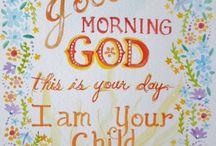 Good morning God!