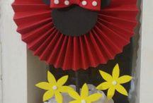 Idéias para festinha da Juju ( Minnie Vermelha)