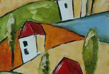 landscape &houses