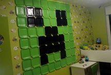 minecraft pokoj, minecraft room