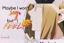 Anime / Manga Quotes