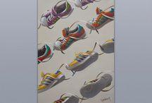 Originals. Canvas 70x50, oil.
