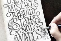 Writing / Hand writing