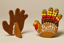 Thanksgiving crafts / by Beth L.