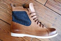Men's Footwear / by Morganne Lnthwt