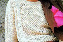 Knitting aran