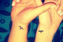 Friend tattoo ideas / by Kolbi Jorgensen
