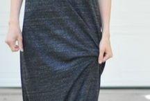 Maksi elbiseler