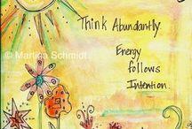 Espiritualidad & Motivaciones & Pensamientos / El corazon y la mente, unidos en un punto mas alla del ser aparente que se ve aca.