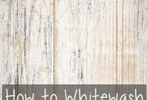 How to white wash furniture / How to white wash furniture